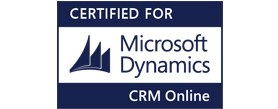 Certified with Microsoft Dynamics