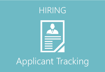 Hiring - applicant tracking