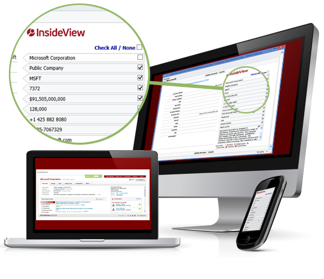 1Staff InsideView features