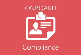 Manage onboarding and compliance