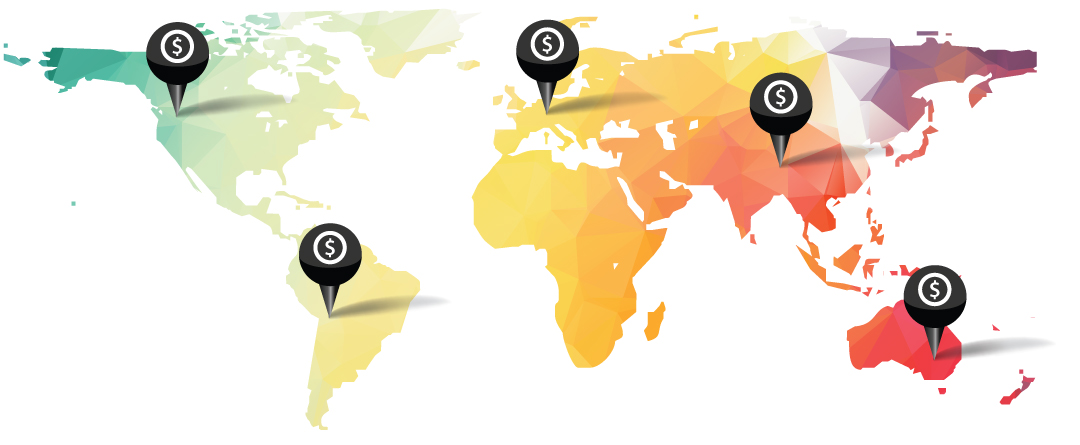 1Staff customers process payroll across five different continents.