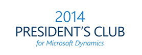 2014 Presidents Club for Microsoft Dynamics