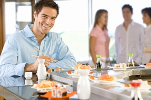 What I learned about customer interaction from a sushi bar.