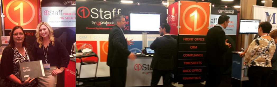 1Staff at Staffing World
