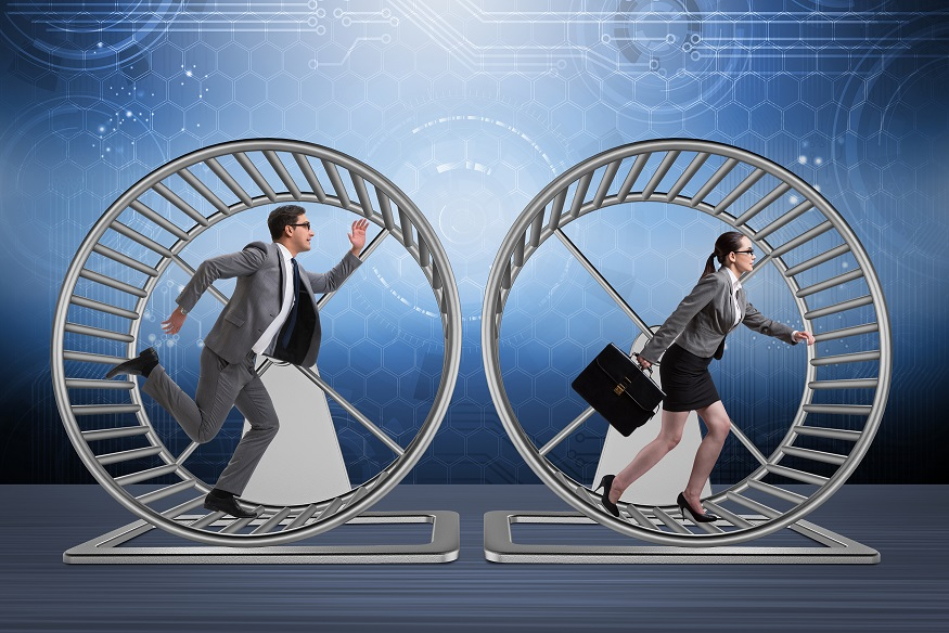 Are your high performers on the hamster wheel?