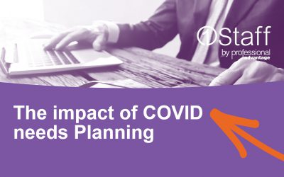 The impact of COVID needs Planning