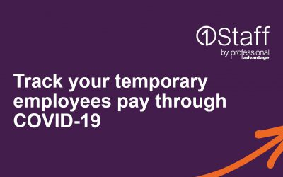 Track your temporary employees pay through COVID-19