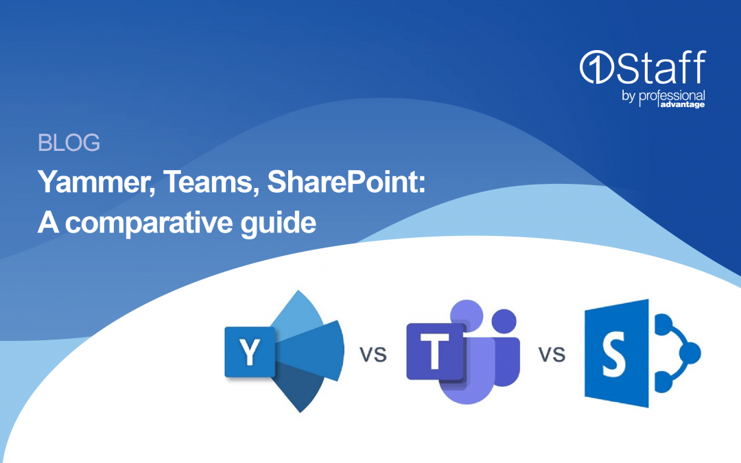 Yammer, Teams, SharePoint: A comparative guide