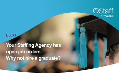 Your Staffing Agency has open job orders. Why not hire a graduate?