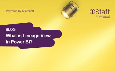 What is Lineage View in Power BI?