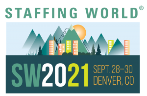Staffing World 2021 and 1Staff Staffing Software