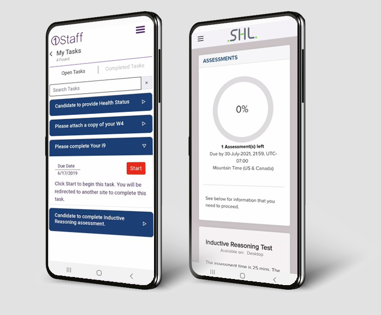 1Staff Mobile simple onboarding and credentialling