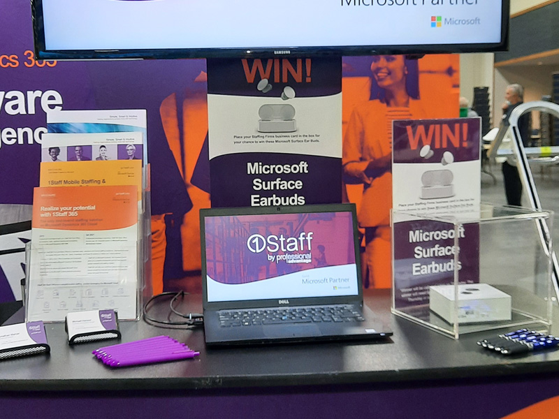 Win Microsoft Surface Earbuds at Staffing World